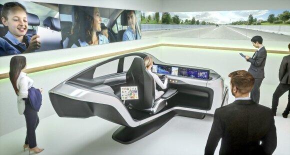 Ateities automobilio simuliatorius