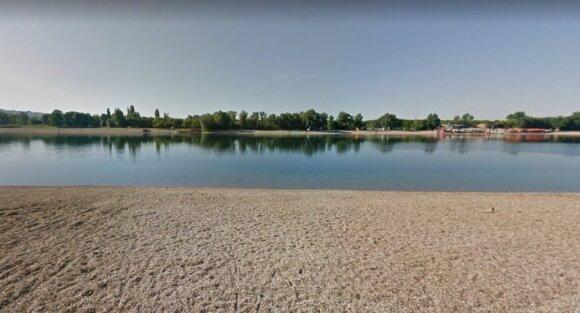 Sava ežeras. A zona