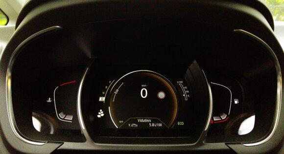 Vidutinės degalų sąnaudos siekė 5,8l šimtui kilometrų