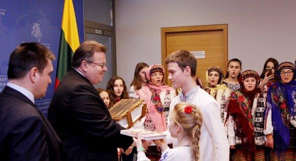 Линас Линкявичюс и Павел Климкин