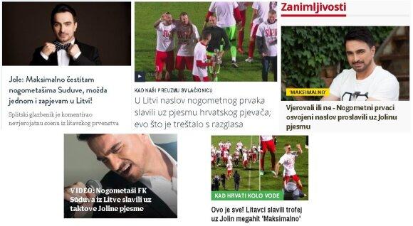 """""""Sūduvai"""" – Kroatijos muzikos žvaigždės maksimalūs sveikinimai / FOTO: fksuduva.lt"""