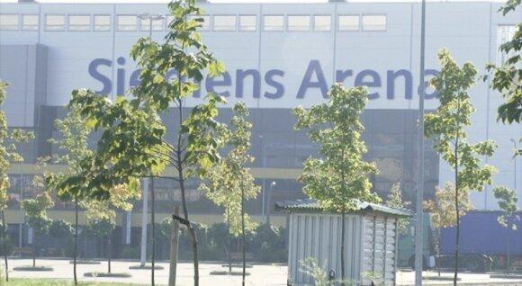 """Sudėtingomis sąlygomis augančios liepos prie """"Siemens"""" arenos"""