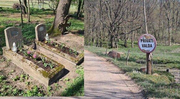 Sunkiai suvokiama situacija Šilutės rajone: draudžia lankyti artimųjų kapus, o atėjusius išplūsta