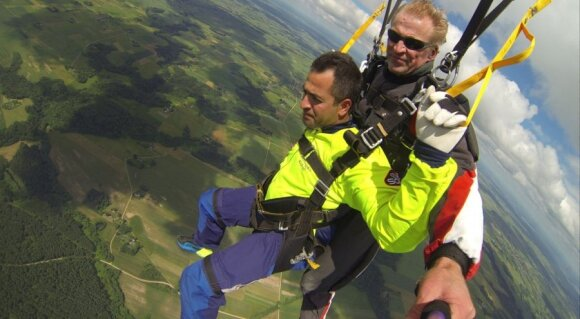 Parašiutas, Vidmantas Zubė