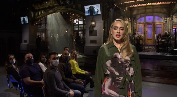 "Adele laidoje ""Saturday Night Live"""