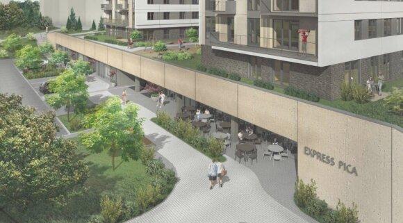 Architektai abejoja dėl naujo daugiabučio Viršuliškėse