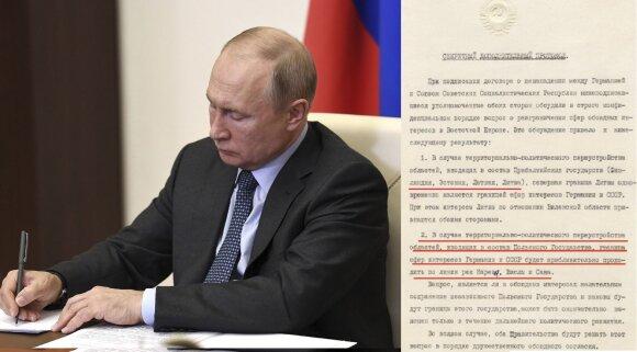 Putino kalboje – iškalbingos detalės tarp eilučių: kas liko be grasinimų ir pagiežos