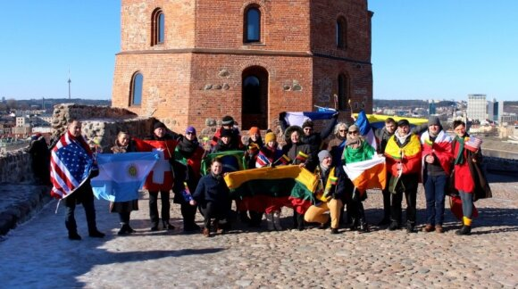 """Lithuanian repatriates celebrate """"World in Lithuania"""" on 16 February"""