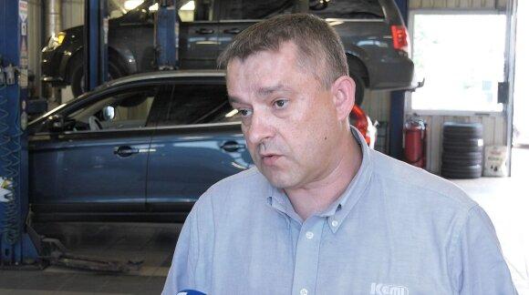 """Volvo XC60"" patikra ""Kemi"" autoservise"