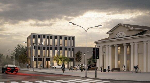 Naujojoje Vilnioje planuojama statyti verslo centrą