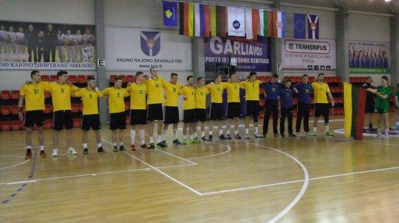 Lietuvos vaikinų U20 rankinio rinktinė