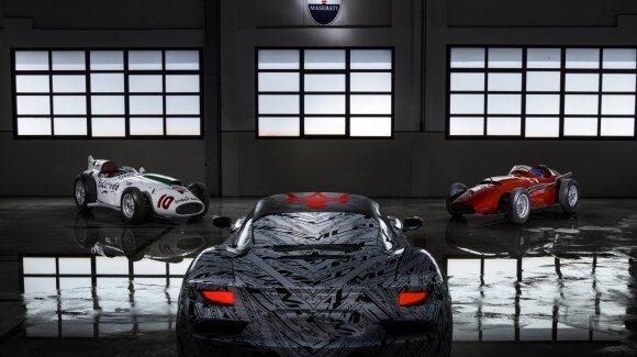 """Naują savo erą """"Maserati"""" pradeda pristatydama visiškai naują variklį"""
