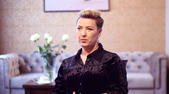 Projekto nugalėtoja Ingrida Urbštonavičiūtė