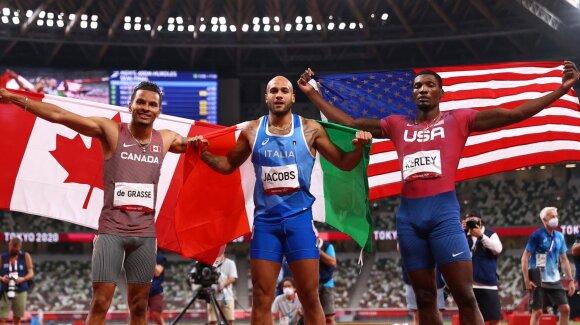 Olimpinės lengvosios atletikos varžybos