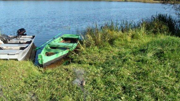 Brakonieriai Plinkšių ežere