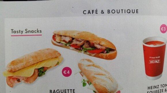 Ką gali gauti nusipirkęs sumuštinį?