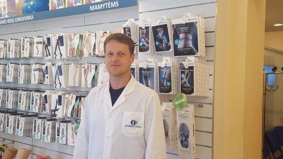 Ortopedas technikas Rokas Ulozas