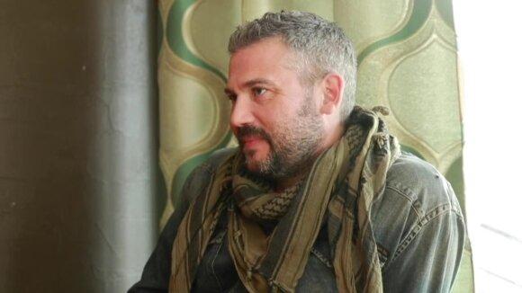 Nigelas Westas Šiauliuose ryžosi atviram interviu DELFI: Sandra žaidė labai pavojingą žaidimą