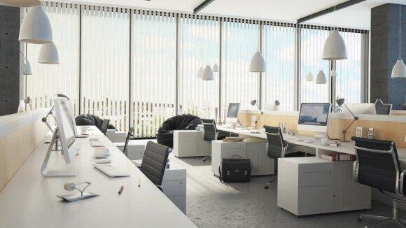 Darbdaviai darbuotojus motyvuoja ir kurdami svajonių biurus