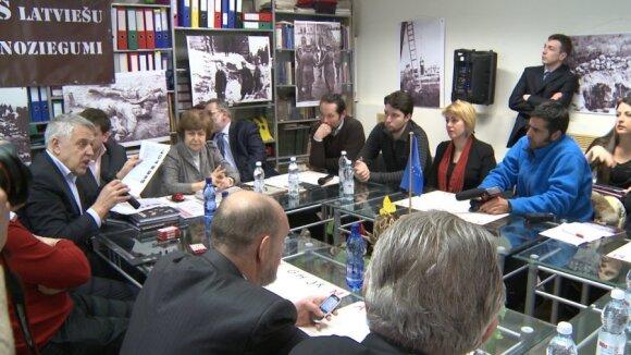 Round table discussion. PHOTO ReBaltica, Mistrus Media