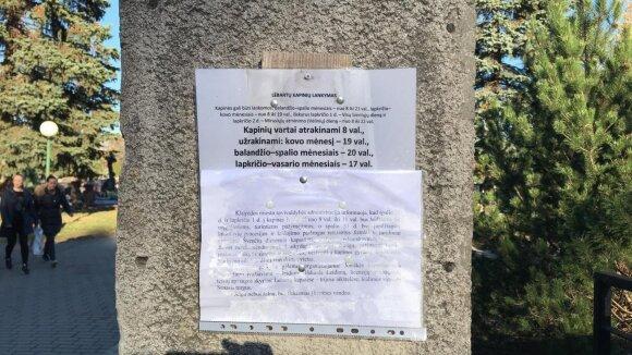 Klaipėdos Lėbartų kapinės