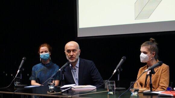 Iš kairės: Eglė Mikalajūnė, Adamas Mazuras, Natalia Żak