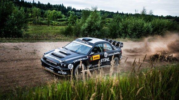 "Benediktas Vanagas su ""Subaru Impreza"""