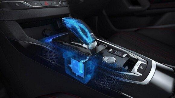 """Modernizuotas """"Peugeot 308"""" bus siūlomas ir su 8 laipsnių automatine pavarų dėže"""