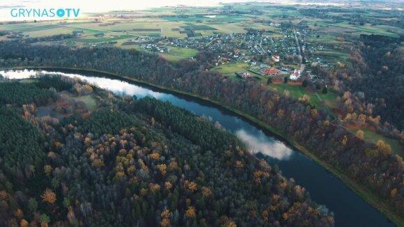 Vertingesnės vietos Lietuvoje nesurasite: pažvelkite į ją iš paukščio skrydžio
