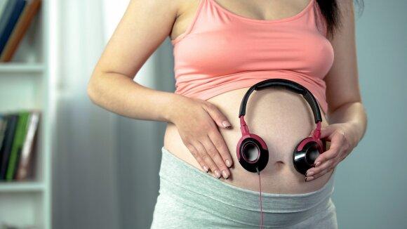 Nėščia moteris