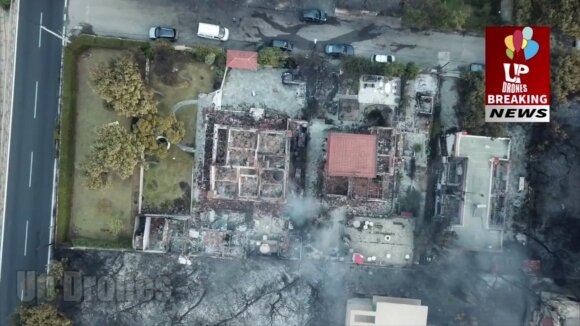 Graikijoje – apokaliptiniai vaizdai: liudininkai pasakoja baisias istorijas