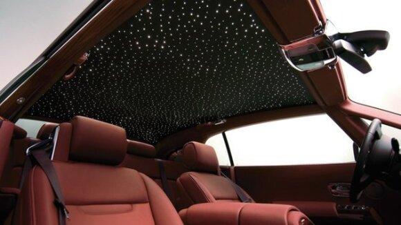 Rolls-Royce žvaigždėtas dangus