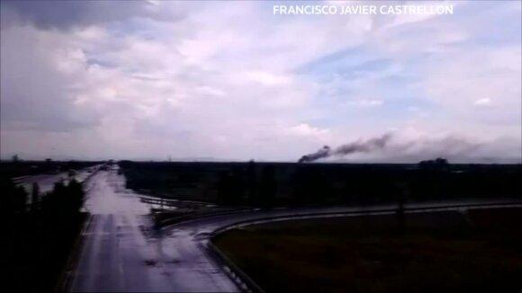 Stebuklas Meksikoje: keleivinio lėktuvo katastrofą išgyveno visi juo skridę