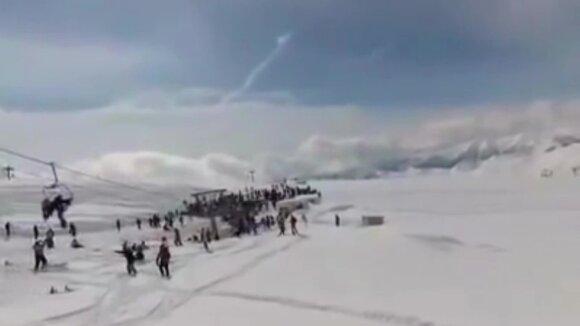 Nelaimės Gruzijos kalnuose liudininku tapęs lietuvis: teko šokti iš 7 metrų aukščio