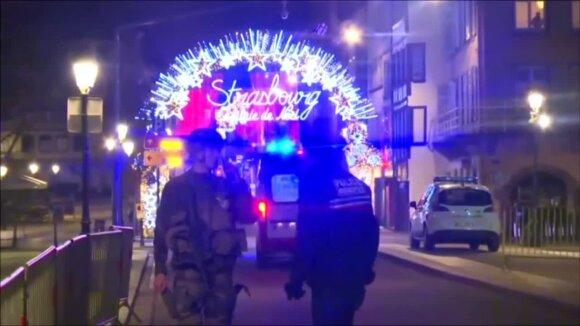 Po šūvių Strasbūre – milžiniškos saugumo pajėgos: yra žuvusių, nukentėjusieji kritinės būklės