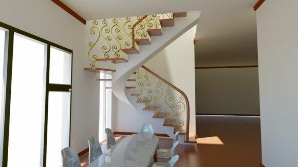 Laiptai namuose: kokius įsirengti geriausia?