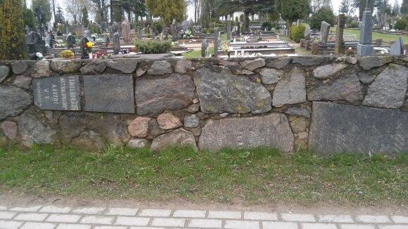 Senųjų Ukmergės kapinių tvora