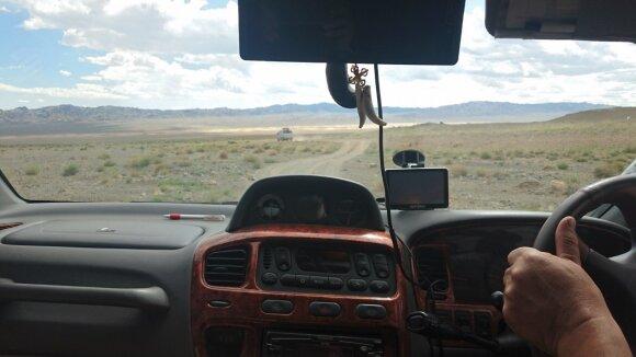 Mongolijos keliai