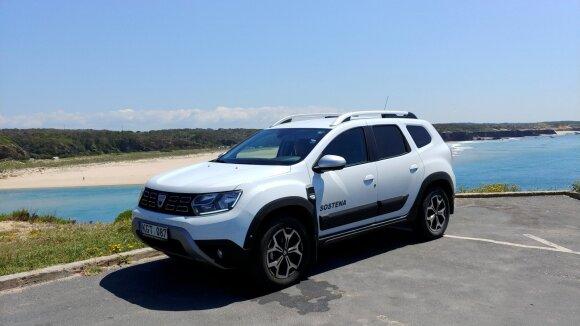 """Su """"Dacia Duster"""" nuvažiavo 10000 km"""