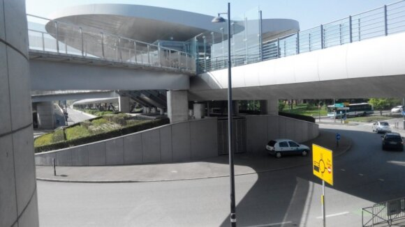 Galinė A linijos stotis La Poterie