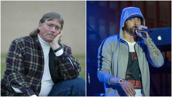 Eminemo tėtis mirė