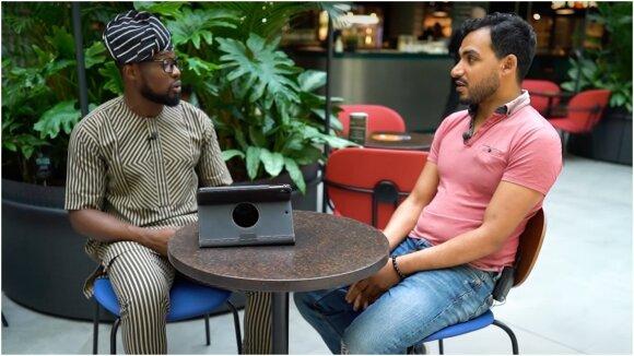 Toye Samson Abiodun ir Ašrafas Attia