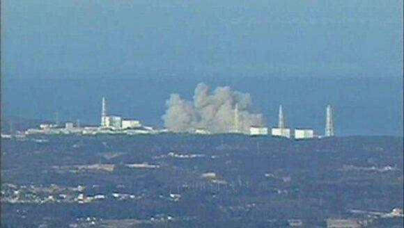 Sprogimas Fukushimos atominėje elektrinėje