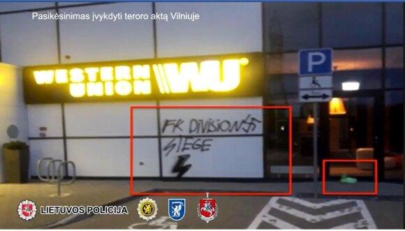 Pasikėsinimas įvykdyti teroro aktą Vilniuje.