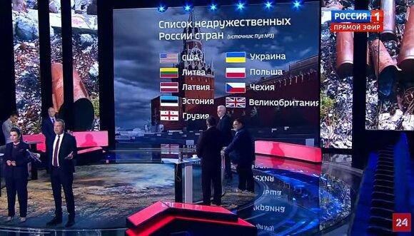 """Список Путина не испугает """"врагов России"""""""