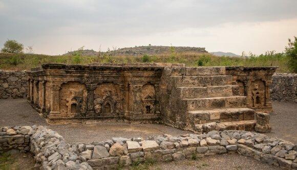 Sirkapo miesto griuvėsiai