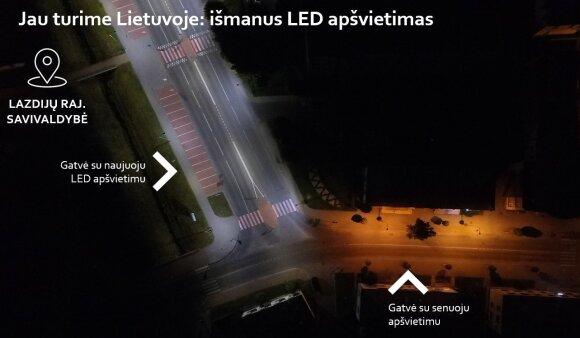 Išmanus LED apšvietimas