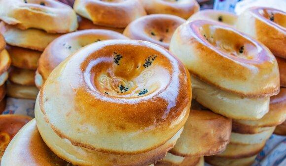 Uzbekiškos duonelės non