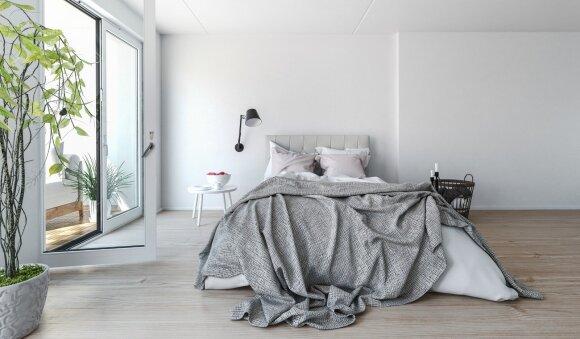 Suprasite, kas yra dangiškas poilsis, jei pertvarkysite miegamąjį pagal šiuos principus
