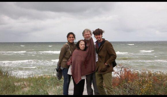 Dokumentinį filmą apie Antano Mockaus mamą Nijolę sukūręs italas Sandro Bozzolo: liko labai gilus mūsų ryšys